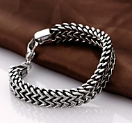 Personality Retro Men's Stainless Steel Bracelet Jewelry