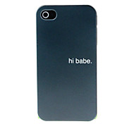 A dark Pattern Hard Case for iPhone 4/4S