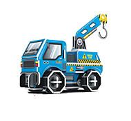veículos de engenharia 3d puzzles DIY brinquedos