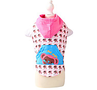 Dog Coat Pink / Orange Dog Clothes Summer Fashion