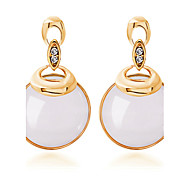 Fashion High-Grade Opal Crystal Earrings