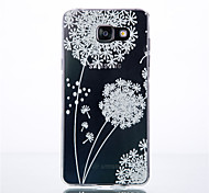 Dandelion Pattern TPU Phone sets For Galaxy A3/A9/A310/A510/A710