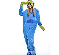 Unisex Adult Onesies Anime Cosplay Costume with Hoodie Toy Story Aliens Polar Fleece Kigurumi Pajamas