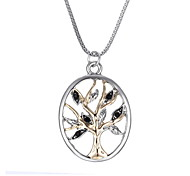 The Tree Of Life And Openwork Pendant Necklace