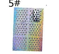 1 sheet Mixed Sliver Metallic Design Nail Art Decal Hollow Sticker 3D Decoration  STZ-K5/6/7/8/9/10  STZ-K(1-24)