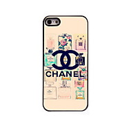 Perfume Design Aluminum Hard Case for iPhone 5/5S