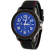 Men's Watch Blu Ray Mirror Leisure Men's Sports Watch Cool Watch Unique Watch