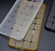 For Samsung Galaxy Case Transparent Case Back Cover Case Geometric Pattern TPU SamsungGrand Prime / Grand Neo / Grand 2 / E7 / E5 / Core