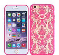 Rose Pattern Anaglyph TPU+PC Mobile Phone Protection Shell Chinese Style for iPhone 6/6S 4.7""