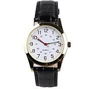 Black Belt Leisure Men's Watch Cool Watches Unique Watches