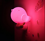 Lovely Jungle Bird Light Smart Light Controlled Emergency LED Night Light for Kids Room Home Decoration(Assorted Color)