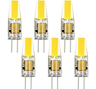 6pcs G4 3W 1505 RA>80 240LM 3000K/6000K Warm White/Cool White Light Lamp Bulb(AC10-20V)
