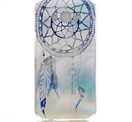 White Campanula Pattern PC Material Phone Case for Samsung Galaxy J1/J120/J5/J510/J7/J710