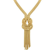 High Quality Gold Color Long Chain Necklace
