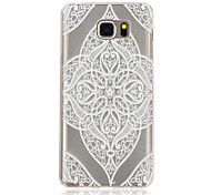 Lace Love Pattern TPU Material Phone Case for Samsung Galaxy Note 5/4/3