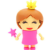 ZPK30 32GB Little Princess Cartoon USB 2.0 Flash Memory Drive U Stick