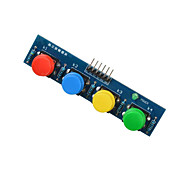 4-Key Button Module Sensor External Keyboard Module for Arduino+Raspberry Pi- Blue