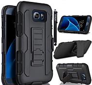 deji® festen Gehäusedeckel mit Sicherungsband drehbaren Clip Ständer für Rand s7 Samsung Galaxy / s7 / s6 Rand + / s6 Rand / s6 / s5 / s4