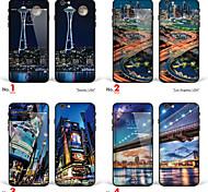 """iPhone 6 / 6S corpo adesivo pelle arte: """"Seattle"""" """"Los Angeles"""" """"New York"""" """"Ponte di Brooklyn, New York, Stati Uniti d'America"""" (serie"""