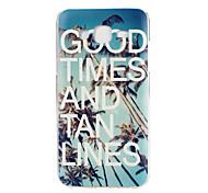 caso padrão material TPU telefone bom tempo para Samsung Galaxy j5