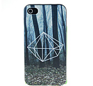 Forest in the night Pattern Hard Case for iPhone 4/4S
