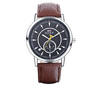 Authentic moment Leather watch Waterproof Watch men/women Watch quartz watch silver case 4 band Color WH0011 Cool Watch Unique Watch