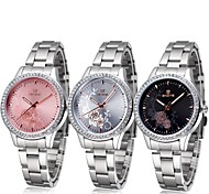 Women's Fashion Watch Water Resistant / Water Proof Hollow Engraving Sport Watch Quartz Alloy Band Flower Silver