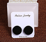 Europe and the United States fashion 316 stainless steel magnetic ear stick round 1.2cm / Party /  1 pair
