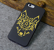 Black Wood iphone Case Timberwolves Forest Wolf Totem Hard Back Cover for iPhone 5s/iphone 5