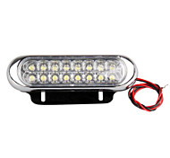 2 Car Truck Day Running Fog Driving Drl White 16 Led Light Daylight