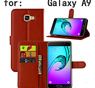Embossed Card Bracket Protective Sleeve Fit For Samsung Galaxy A9 Mobile Phone