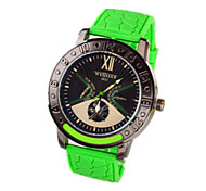 2016 the most popular male silicone fashion watches Wrist Watch Cool Watch Unique Watch