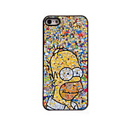 Cartoon Pattern Aluminum Hard Case for iPhone 5/5S