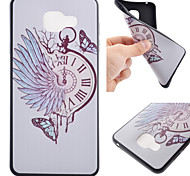 Pocket Watch Black Edging Soft TPU Phone Case for Samsung Galaxy A310/A510/A710