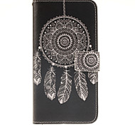 Dreamcatcher Pattern PU Leather Full Body Case with Card Slot for Samsung Galaxy A9/A9000