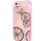 Windmill Design LED Flicker Back Cover+Bumper Cover for IPhone 6 Plus/6S Plus