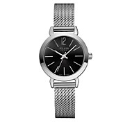 JULIUS Fashion Women Watch Stainless Steel Band Casual Dress Wristwatch Silver Series JA-732