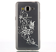 Flower Pattern TPU Soft Cover for Galaxy Core Prime/Grand Prime