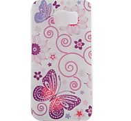 Butterfly Painted TPU Phone Case for Galaxy S7/S7 Edge/S7 Edge Plus