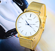 Men's Fashion Watch The New Gold Silver Belt Quartz Watch Wrist Watch Cool Watch Unique Watch