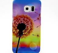 Colorful Dandelion Pattern Hard Plastic Skin Case for Samsung Galaxy S6 G920 / S6 Edge G925 / S6 Edge Plus G928