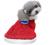 Dog Dress Blue Winter Fashion