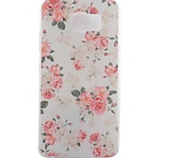 Rose Painted TPU Phone Case for Galaxy S7/S7 Edge/S7 Edge Plus