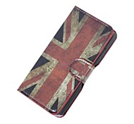 UK Flag Magnetic PU Leather wallet Flip Stand Case cover for Wiko sunset2