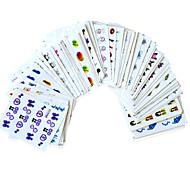 - Finger / Zehe - 3D Nails Nagelaufkleber - Andere - 60PCS Stück - 15cm x 10cm x 5cm (5.91in x 3.94in x 1.97in) cm