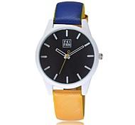 personalidad de la moda del color del encanto escala simple reloj de cuarzo