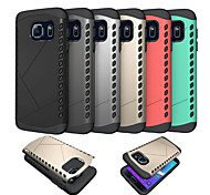 2 In 1 Design PC+TPU Back Case for Samsung Galaxy S7/S7 edge(Assorted Colors)
