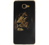 The lion Pattern TPU+IMD Soft Case for Samsung Galaxy A9/A9000
