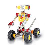 Robot Waiter  3D Puzzles Magical Alloy Model DIY Toys Modeling Toys