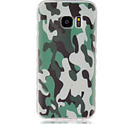 For Samsung Galaxy Case Pattern Case Back Cover Case Camouflage Color TPU SamsungS7 / S6 edge / S6 / S5 Mini / S5 / S4 Mini / S4 / S3